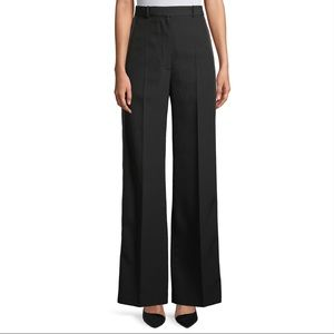 💕BURBERRY High Rise Wide Leg Tuxedo Trousers